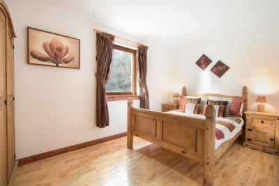 Double bedroom at Lileas