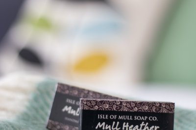 Complimentary Mull soaps