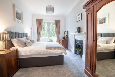 Bedroom 4 at Oakfield (usually set out as a double for guests, but can be requested as a twin)