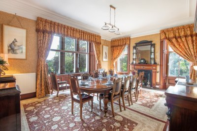Formal dining room at Oakfield House