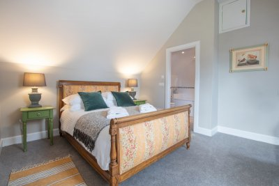 Sumptuous beds promise the perfect night's sleep from the Old Post Office's three en-suite bedrooms
