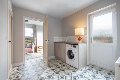 Make use of the convenient utility room during your stay at the Old Post Office