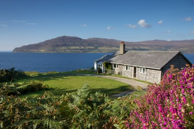 Ormsaig Cottage in stunning surrounds
