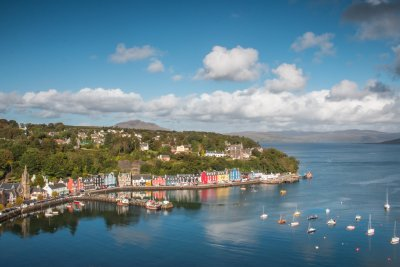 Tobermory, the island's capital