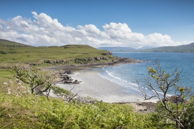 One of Mull's beaches on the west coast