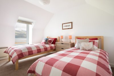 Twin bedroom at Smithy House