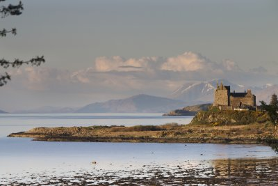 Duart Castle nearby