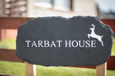 Tarbat House sign
