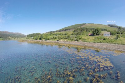 The bay at Kilfinichen