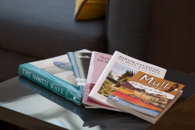 Books about Mull for guests to enjoy