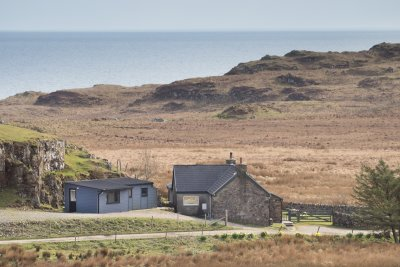 The Pod and Ploughman's Cottage position