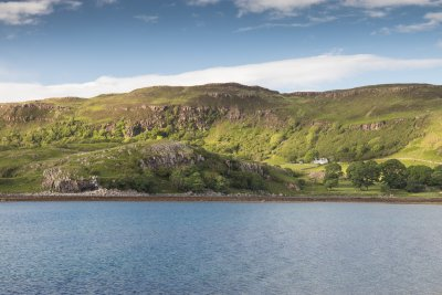 Tigh na Caora and the superb coastline of Loch Tuath