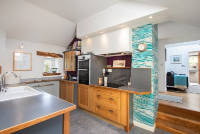 Stylish and superbly equipped, The Tontine's kitchen is a chef's delight