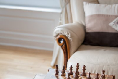 Enjoy a game with staying at Ulva Apartment