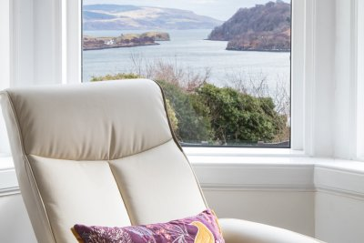 Armchair with a superb sea view