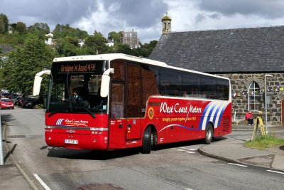 Buses and Taxis on the Isle of Mull