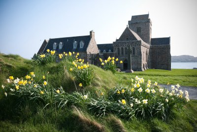 Visit the Abbey on the Isle of Iona