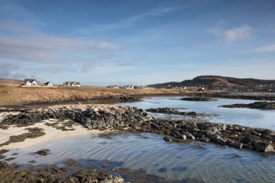 Location by the coast, close to the village of Bunessan
