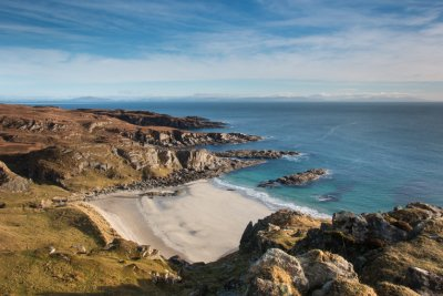 One of Mull's beaches in the Ross of Mull