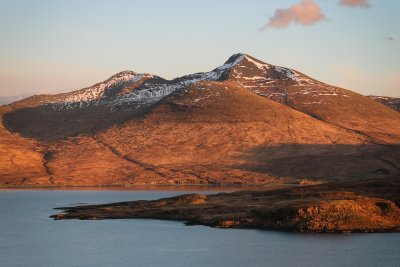 Ben More at sunset