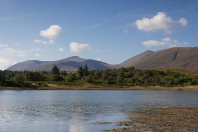 Loch Don with Sgurr Dearg and Dun da Gaothie in the distance