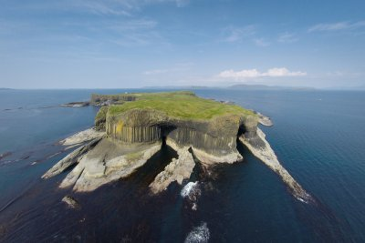 Take a boat trip to the Isle of Staffa during your stay