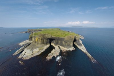 Visit the island of Staffa during your stay