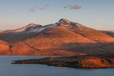 Ben More is a prominent feature of central Mull