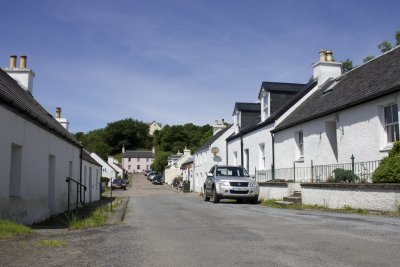 Village of Dervaig is a ten minute drive from the cottage where there is a shop and pub