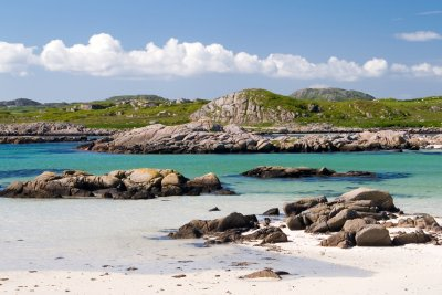 Fidden beach on the Ross of Mull