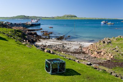 Looking across to Iona from Fionnphort