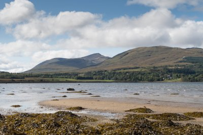 Duart Bay and the Mull hills
