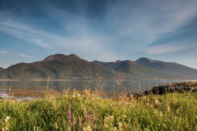 Loch na Keal and the Ben More hills in central Mull