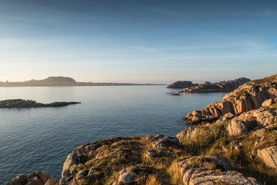 The view to Iona from Mull