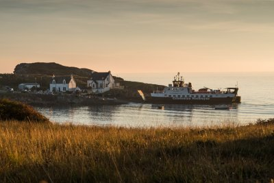 Fionnphort is a short drive away where boats depart to Iona and Staffa