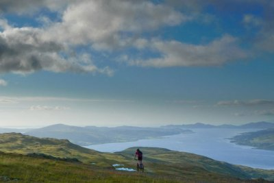 Mountain Biking on Mull