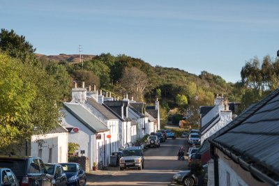 Dervaig village centre