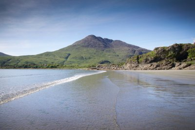 Walking to Laggan Sands near Lochbuie