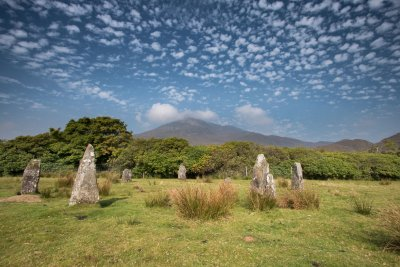 The stone circle at Lochbuie, Isle of Mull