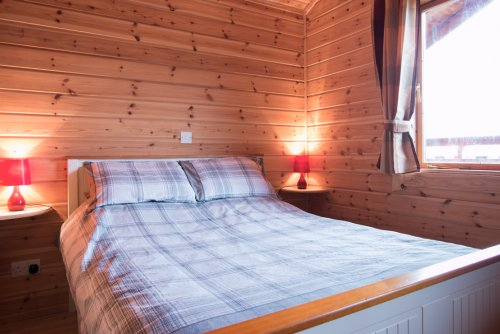 Double bedroom at Fors Lodge