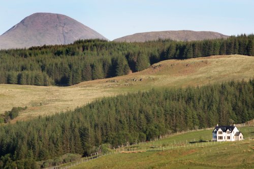 Setting in Glen Aros