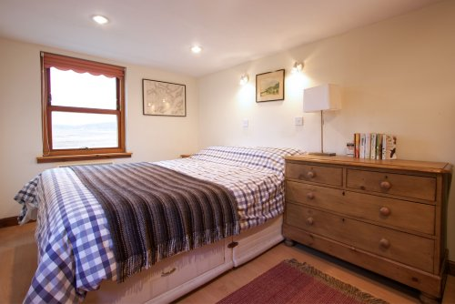 Double bedroom at Keills