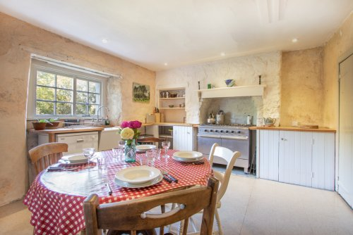 Lovely traditional kitchen and dining space in Achleck