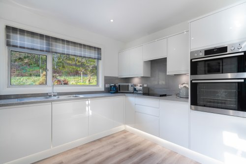 Make the most of your self-catering holiday in this beautifully presented kitchen