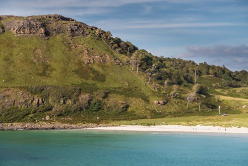 Calgary beach - a fifteen minute drive from Dervaig