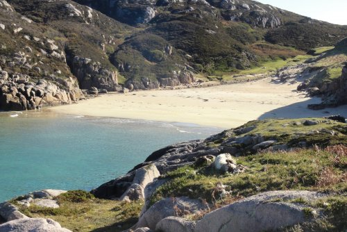 Visit some of the excellent beaches on the Ross of Mull