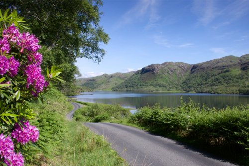 Loch Uisg - a picturesque setting for a holiday