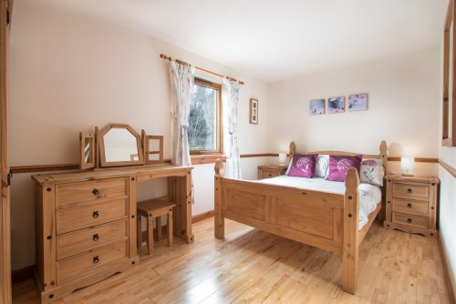 Double bedroom at Cruachan