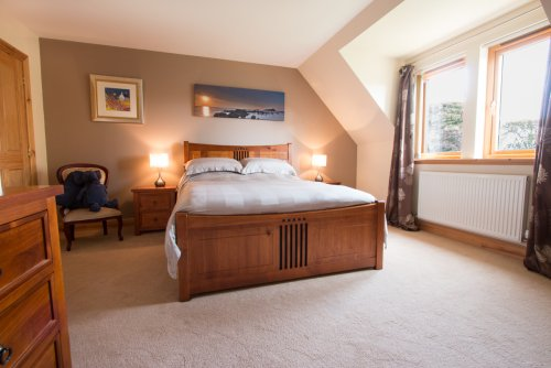 Double bedroom at Dhachaidh Mo Cridh