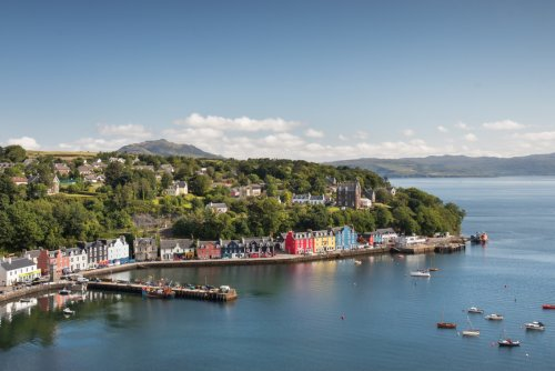 Tobermory is a ten minute drive from the house